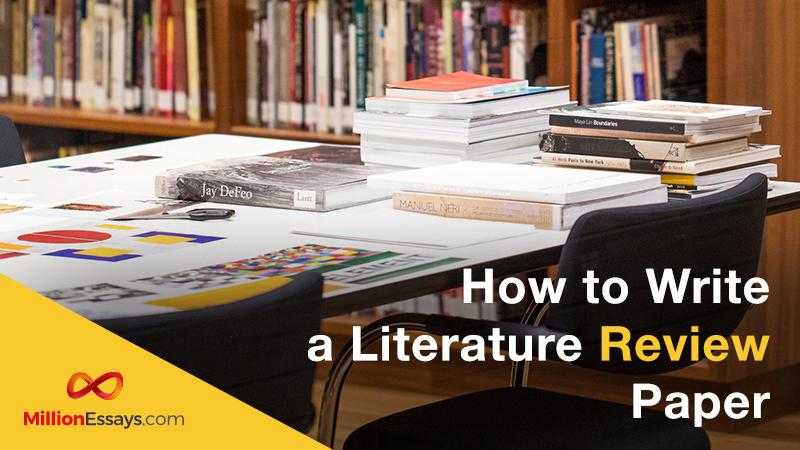 How to Write a Literature Review Paper