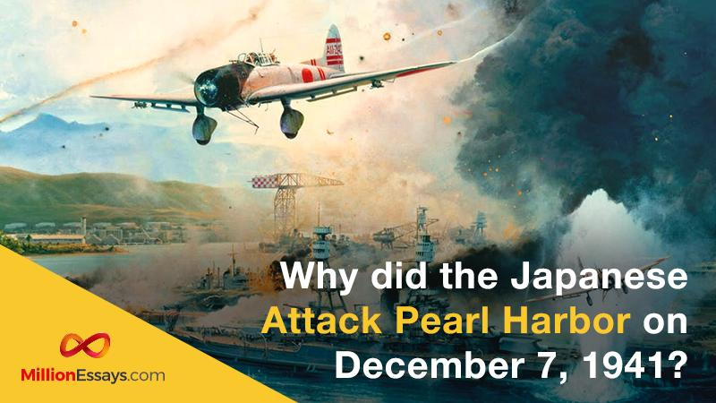 The Japanese Attack on Pearl Harbor on December 1941