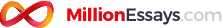 Million Essays.com logo